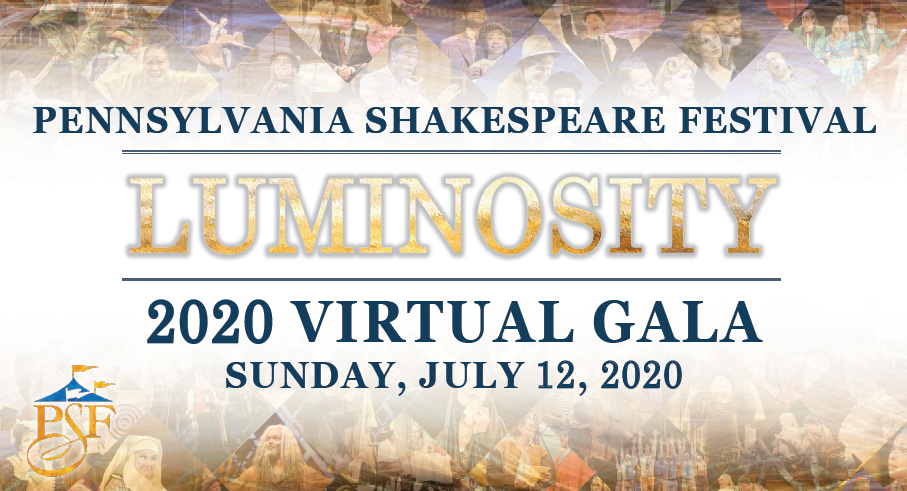 Pennsylvania Shakespeare Festival Virtual Gala
